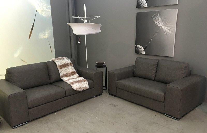 Coppia divani in ecopelle • Mobilificio Fontana